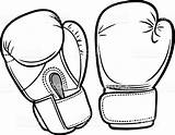 Boxing Gloves Coloring Pages Divergent Printable Getcolorings Reliable Print sketch template