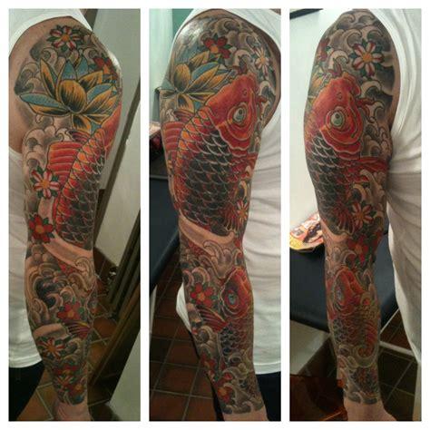 carp irish st tattoo