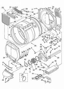Whirlpool Model Gew9200ll1 Residential Dryer Genuine Parts