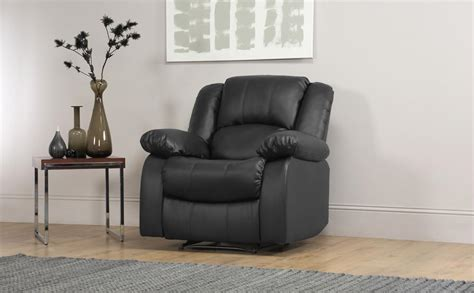 Dakota Leather Recliner Armchair