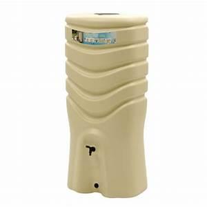 Recuperateur Eau De Pluie 1000 Litres : r cup rateur d 39 eau beige kit collecteur 550 litres ~ Premium-room.com Idées de Décoration