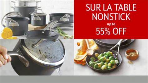 Sur La Table Cookware Sale! Save Up To 60% Off Where To Put Your Clothes In The Bedroom Kids Decor Vt Bedrooms Fabric Headboard Sets Gaming Stands Native American Design One Apartments Boston 2 Phoenix Az