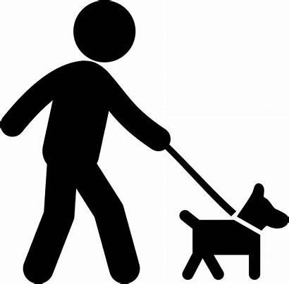 Dog Walking Icon Svg Onlinewebfonts