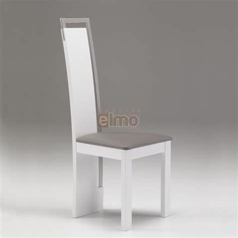 destockage cuisine chaise salle à manger design moderne bois massif et chrome