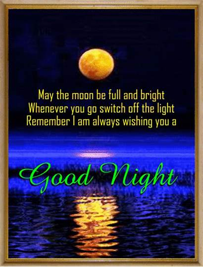 Night Quotes Wishes Ecard Goodnight Cards Person