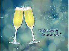 Guten Rutsch ins neue Jahr! Champagne Sekt
