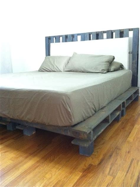 bed board ideas 34 diy ideas best use of cheap pallet bed frame wood pallet furniture for the home