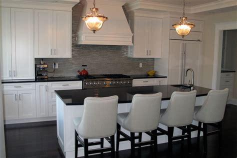 Kitchen Island Designs Ideas - custom transitional kitchen cabinetry by van arbour design