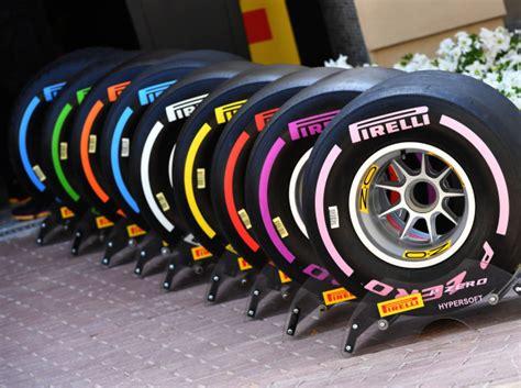 formel 1 reifen pirelli neue reifenfarben bringen probleme mit sich