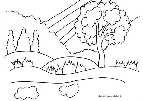 disegno da colorare sulla primavera disegni mammafelice