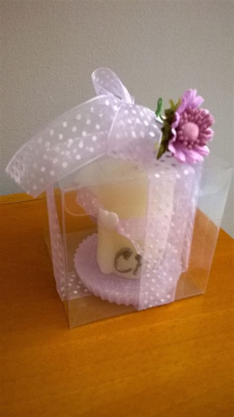 Candele Fatte A Mano by Christening Souvenir Rolled White Candle Paraffin