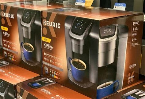 Looking for coffee maker for your home? Keurig K-Elite Single Serve Coffee Maker - Brushed Slate for sale online | eBay