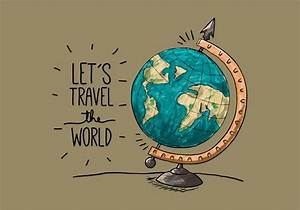 Vintage Earth G... World Globe Quotes