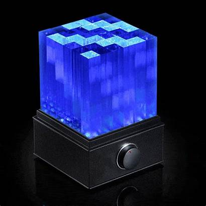 Led Speaker Bluetooth Cube Supernova Speakers Cool