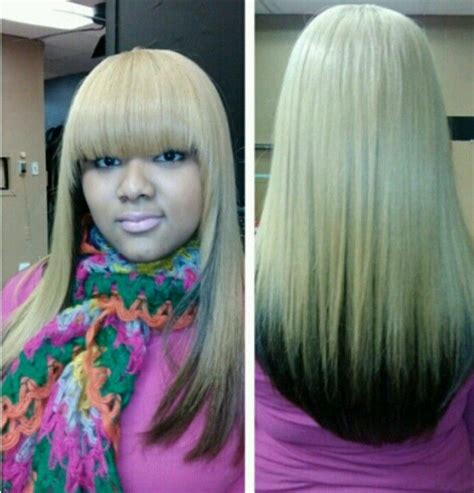 pretty colored wrap weave hair snatched