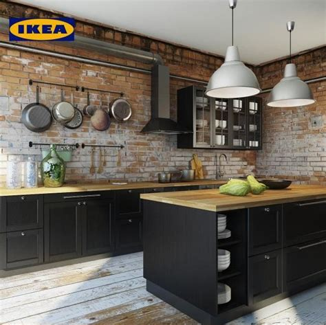 home 3d cuisine kitchen ikea laxarby 3d model