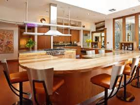 large kitchen designs with islands modern swivel high stool with modern oval large kitchen island also walnut hardwood cabinetry