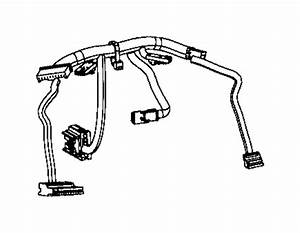 Jeep Cherokee Wiring  Steering Wheel  Trim   No