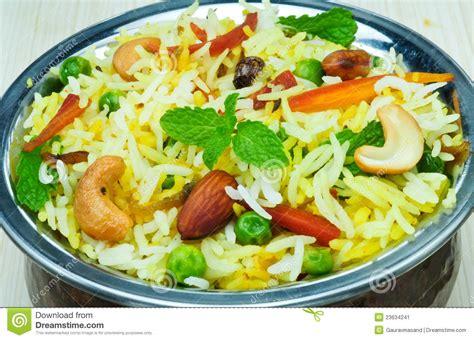 indian cuisine starters vegetable biryani stock image image 23634241