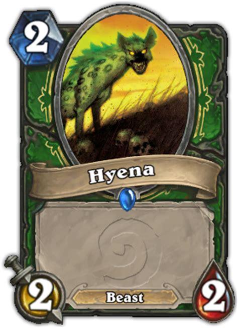 Hearthstone Beast Deck 2014 by Hyena Hearthstone Card