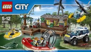lego  city banditenversteck im sumpf brick blogcom