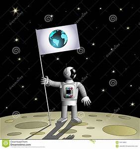 Astronaut On Another Planet Stock Images - Image: 16474864