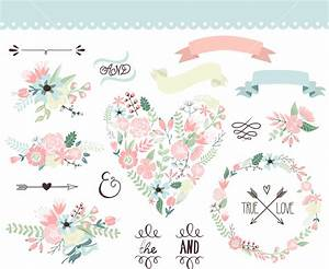 Wedding Graphic Set Stock Image