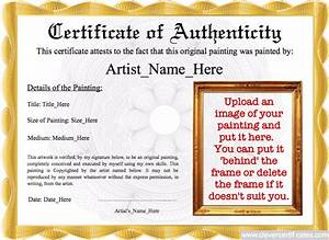 authenticity image template With free printable certificate of authenticity templates