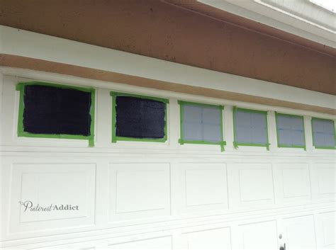 how to paint a l creating a faux carriage garage door pinterest addict