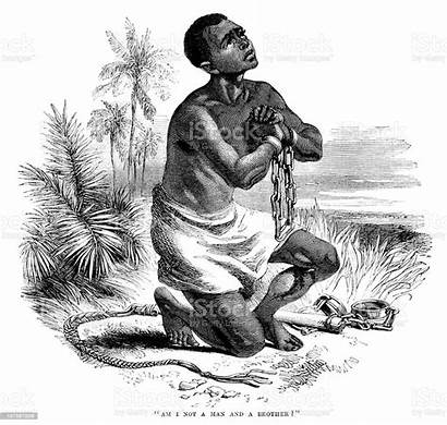 Slave Slavery Shackles Illustration Chains African Anti