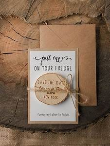 save the date magnets 20 rustic wood save the date With wedding invitations with save the date magnet