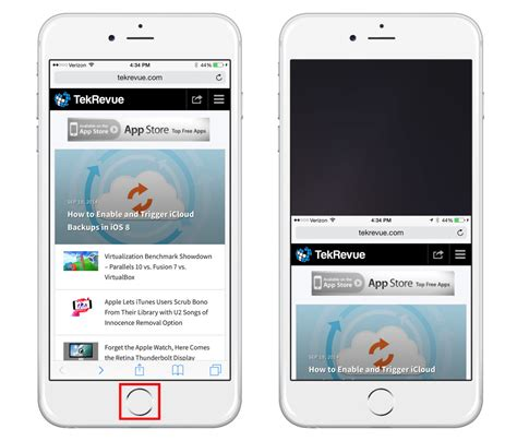 is safari on iphone how to enable and use reachability with the iphone 6