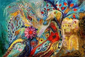 Israeli Jewish Art: The Hills of Jaffo by Israeli artist ...