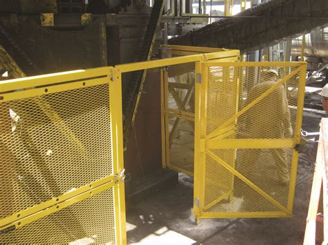modular barrier guards belt conveyor guarding osha