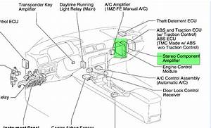 2010 Toyota Camry Audio Wiring Diagram
