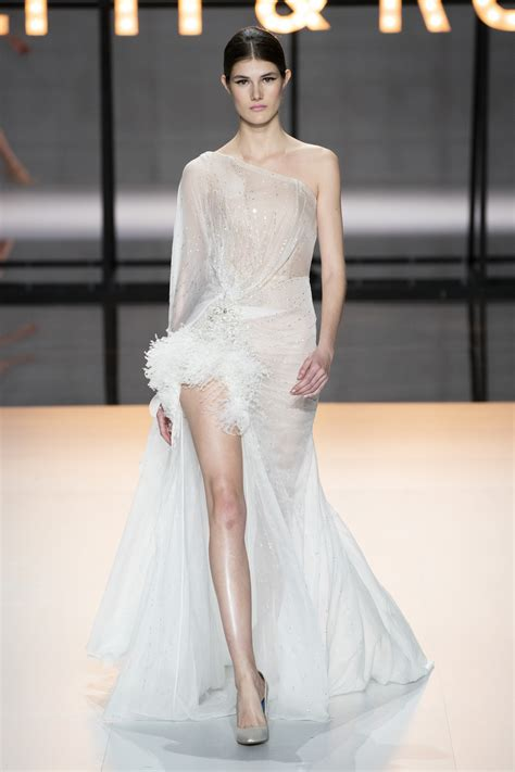 ralph russo couture spring  fashion show