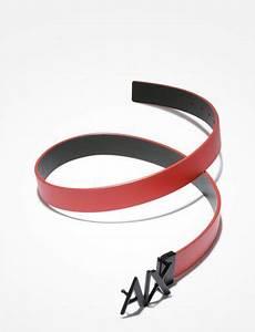 Armani Exchange A|X REVERSIBLE HINGE BELT, Belt for Men ...