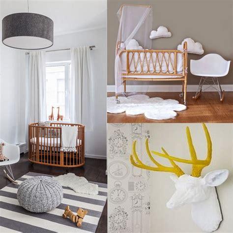 chambre nordique une chambre bébé blanche design et classique à la fois