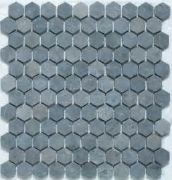 hexagon mosaic tiles traditional wall and floor tile by mission tile