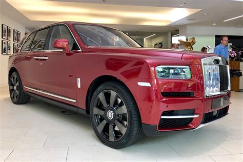 rolls royce cullinan suv revealed auto express