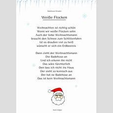 """""""weiße Flocken"""" (2)  Weihnachtsgedicht & Lied Mp3"""