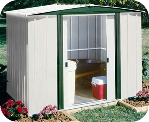 Lifetime Shed 10x8 Assembly by Hamlet 6x5 Arrow Metal Outdoor Storage Shed Kit Hm65
