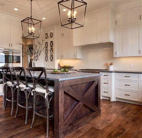 25 Pictures White Cabinets Rustic Kitchen  Alinea Designs
