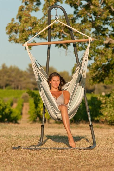 How To Make A Hammock Chair Stand by Comfort Galore In This Free Standing Hammock Chair