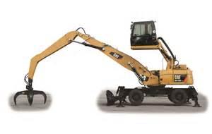 cat machines wheel material handlers track material handlers empire cat