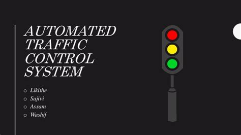 automated traffic control system