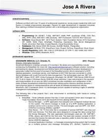 Senior Software Developer Resume
