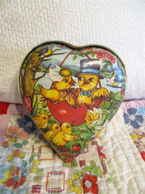 german candy heart vintage valentines vintage easter