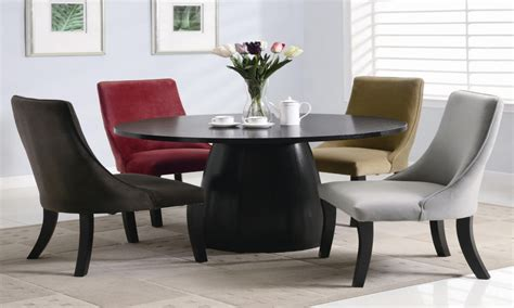 round table dinette sets modern round dining room set casual dinette sets round