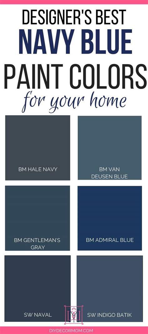 best navy paint colors designers 6 failproof paint